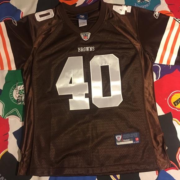 """6ea174da Women's Reebok """"Cleveland Browns"""" jersey Like New!"""
